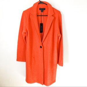 Rachel Zoe Wool Blend Car Coat NWT